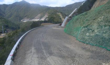 R260猪谷地区道路建設工事