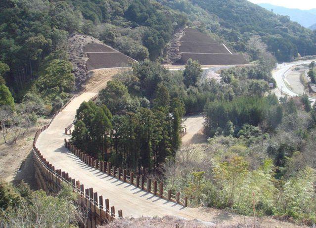 R260木屋谷地区道路建設工事
