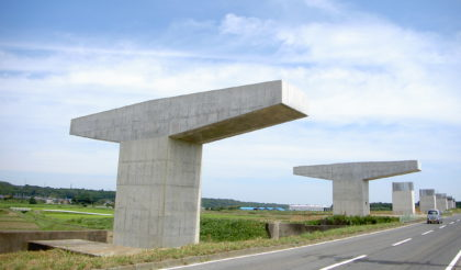 東海環状北勢第一高架橋下部工事