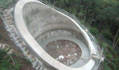 第二東名高速道路臼子橋工事