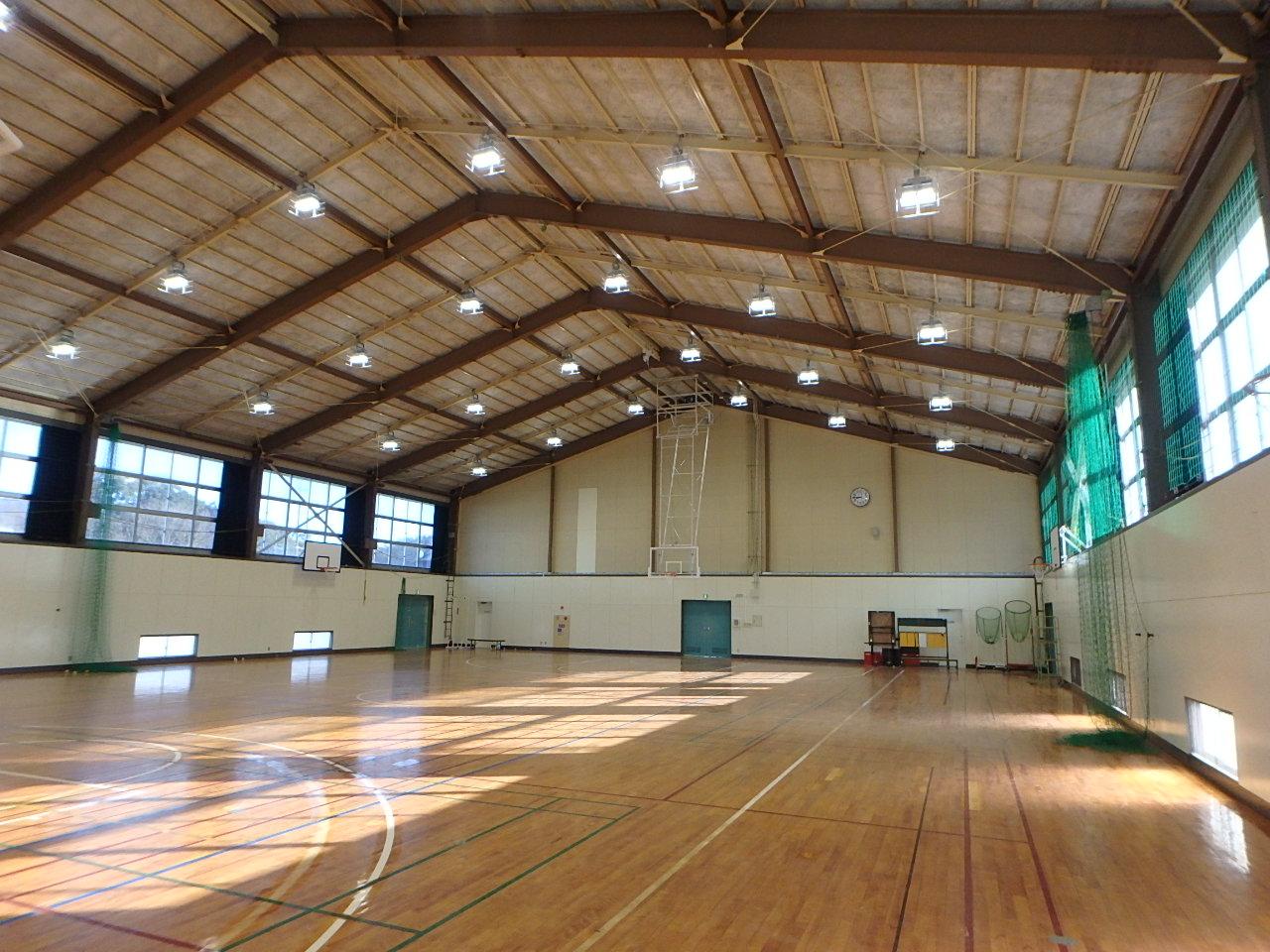 鳥羽商船高専屋内運動場等耐震改修工事