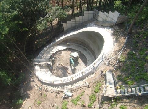 42号小日向谷川橋下部(P1・A2)工事