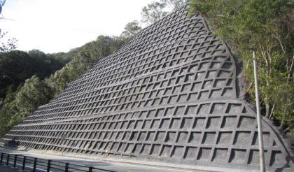 一般国道260号(棚橋竈)災害防除施設工事 完成しました。
