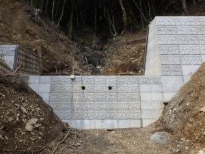 その他水系上の山の谷川水系上の山の谷通常砂防工事